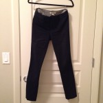 Banana Republic navy sloan fit work pants